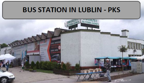 arrival - Lublin bus station