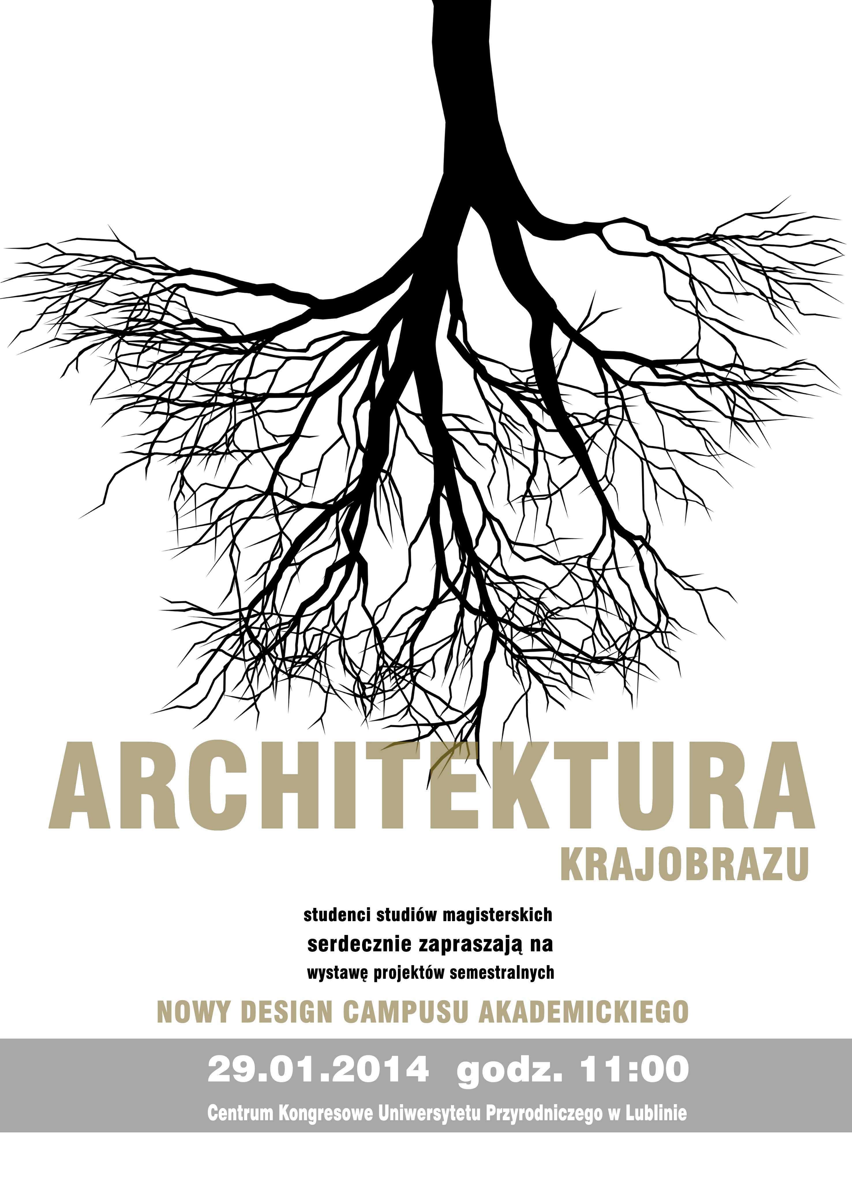 Uniwersytet Przyrodniczy W Lublinie Wystawa Prac Studentów
